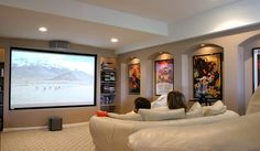 Finished Basement Design, Pictures, Remodel, Decor and Ideas