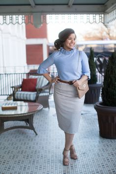 Beautiful modest pencil skirts! Shop bridesmaid styles, modest apparel, ruffles, lace, and gingham. www.daintyjewells.com