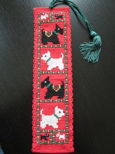 Cross Stitch Bookmark ~ Crafty Weekend: Craft projects for the weekend.  Picture only. Sold as a kit.