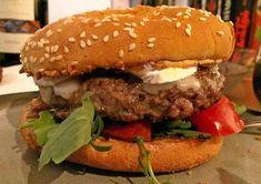 Burger mit Ziegenkäse, Rucola und Feigenmarmelade, ein sehr leckeres Rezept aus der Kategorie Snacks und kleine Gerichte. Bewertungen: 4. Durchschnitt: Ø 3,2.