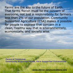 #CSA #community #farms #agriculture #earth