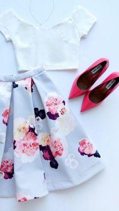 Floral + midi