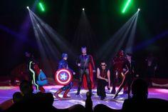 Superheros Duffy, Toms, Superhero, Concert, Concerts