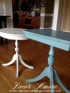 Decor Amore: Perfectly Painted Vintage Tables