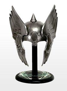 MCU Thor's helmet lookin' super cool and shiny