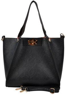 9954485c2c Hynes Eagle Large Totes Women Leather Shoulder Bags (Black) Hynes Eagle  http