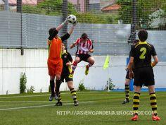 Asier y Pablo, mis equipos de futbol: 150503 S.D. NUEVA MONTAÑA 1-3 C.D. BEZANA