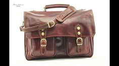76eeee3af40 Alberto Bellucci - Modena Leather Messenger Bag in Color Brown Style number  ABTL100310BN