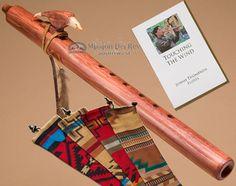Native American Flute Walnut Eagle