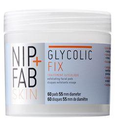Nip Fab Glycolic Fix Exfoliating Facial Pads 60s - Boots