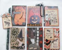 Mixed Media & Altered Crafts: Halloween Pocket Letter