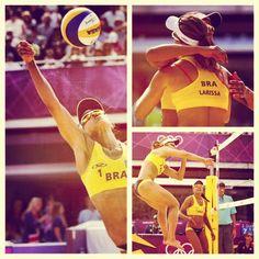 VôleidePraia: dupla @Larissa_Juliana vence República Checa e segue 100%. TERRA, A OLIMPÍADA COMO VC NUNCA VIU #TerraLondres2012  (Fotos: Reuters/AP) #olympicstoday #vôlei #beachvolleyball #volleyball #womenvolleyball #sports #athletics #londres2012 #jogosolimpicos #olympics #london2012 #picoftheday #olimpiadas #olympicsgames #olympicslondon2012 #olympicswatching #olympicsgames #olympicslondon2012 #olympicstoday #olympicspirit #futebol #Brazil #Brasil