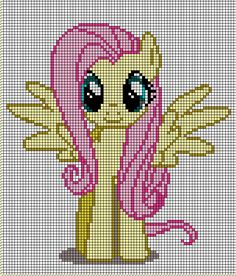 Fluttershy Pattern by ~ Crossstitch and Embroidery Pattern My Little Pony Crafts Tutorial  My Little Pony Patterns for Fan Art Diy Projects, My Little Pony Sewing Template for  Unicorn , pony, ponies, pattern, template, sewing, diy , crafts, kawaii, MIP