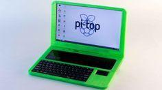 El portátil pi-top kit es un excelente ejemplo de como puedes crear tu propio hardware utilizando impresoras 3D y con hardware abierto...