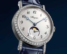 Breguet se adelanta con un Classique fases de luna para señora