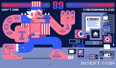 GOV'T SAM vs. CYBERINVADER.EXE on Behance
