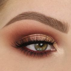Copper is my fave eyeshadow look