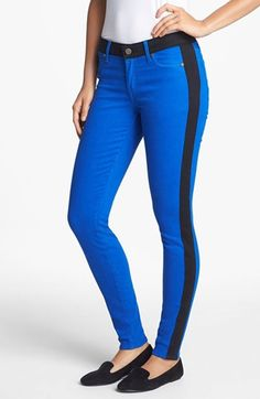 CJ by Cookie Johnson Tuxedo Stripe Track Pants available at #Nordstrom #jeans #women's