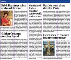 Bid & Hammer wins landmark lawsuit, 1st March 2015, Sunday-Guardian