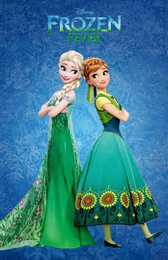 Day 13: My favorite outfit is Elsa's dress from Frozen Fever. I love the colors in it and the design is really pretty.