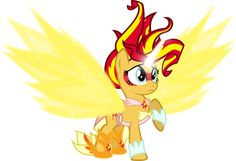 #995729 - artist:comic-graffiti, cute, daydream shimmer, equestria girls, friendship games, ponified, safe, shimmerbetes, solo, spoiler:friendship games, sunset shimmer, vector - Derpibooru - My Little Pony: Friendship is Magic Imageboard
