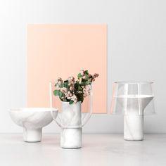 "adayinthelandofnobody:  ""Abito vases"" by Sandro Lopez (via: http://mocoloco.com ) Follow""aday in the land of nobody""on tumblr Pinterest |Society6| Redbubble | Twitter | Designspiration"