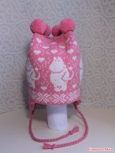 Wonderful hand-made winter hats with moomin pattern Knitting For Kids, Baby Knitting Patterns, Knit Crochet, Crochet Hats, Baby Barn, Bindi, Baby Booties, Kids And Parenting, Knitted Hats