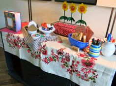 pee wee's playhouse baby shower