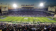 Ryan Field, watched the greatest comeback in NCAA history here.  Go Green!