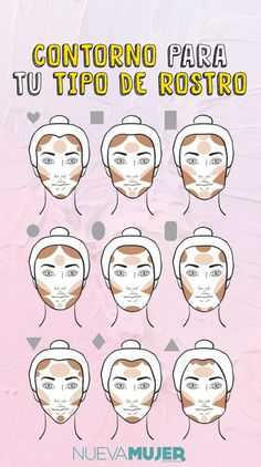 contour makeup – Hair and beauty tips, tricks and tutorials Makeup Tips Contouring, Makeup Guide, Contour Makeup, Glam Makeup, Eyebrow Makeup, Bridal Makeup, Makeup Cosmetics, Makeup Brushes, Beauty Makeup