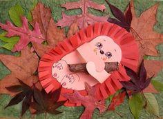 Hedgehog craft for kids. Kids Crafts, Animal Crafts For Kids, Fall Crafts For Kids, Glue Crafts, Art For Kids, Diy And Crafts, Arts And Crafts, Autumn Activities, Craft Activities For Kids