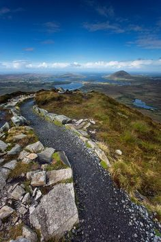 View from Diamond Hill · Connemara Nationalpark © Diana Klawitter