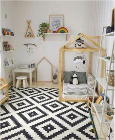 55 Best Montessori Bedroom Design For Happy Kids 0028