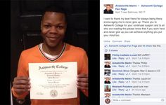 Larry just earned his Associate Degree in Criminal Justice.  Great job, Larry!  Ashworth College Reviews