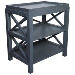 Muse - Sulivan Maple Wood Side Table - MTAB203MG