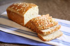 Honey and Oat Gluten Free Bread recipe by Barefeet In The Kitchen