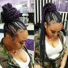 Hair By : Trendy Hair Haven Jumbo tight box braids with cuffs. Neat lining and well placed baby hair. My Hairstyle, Pretty Hairstyles, Black Hairstyles, Hairstyle Wedding, African Braids Hairstyles, Braided Hairstyles, Protective Hairstyles, Protective Styles, Goddess Hairstyles