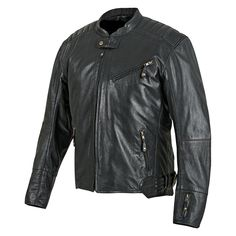 Rust And Redemption™ Leather Motorcycle Jacket from Speed and Strength®.
