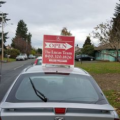 It was the best spot for the sign... on my car... We are open!    Property Website:  http://2663818thplaces.thebestlisting.com