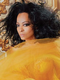 Diana Ross... Talk about someone who is absolutely gorgeous!