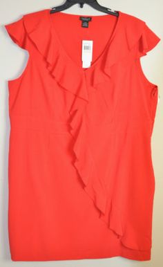 NWT Red Plus Size Dresses Mixed Brands Calvin Klein, DKNY & Spense woman Only $32.99 with FREE SHIPPING!
