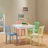 Found it at Wayfair - Fort Stevens Kids' 5 Piece Table and Chair Set