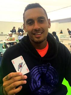 StarCards supporter Nick Kyrgios