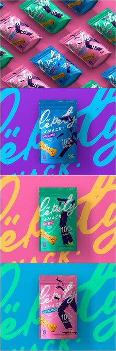 Colored Packaging for Lëpety Snack Dog Food - World Brand Design Sugar Packaging, Chocolate Packaging, Food Packaging Design, Coffee Packaging, Bottle Packaging, Brand Packaging, Snack Brands, Dog Food Brands, Pet Branding
