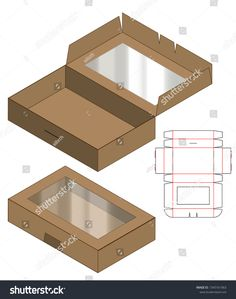 Find Box Packaging Die Cut Template Design stock images in HD and millions of other royalty-free stock photos, illustrations and vectors in the Shutterstock collection. Cool Paper Crafts, Diy Crafts For Gifts, Foam Crafts, Box Packaging Templates, Packaging Design, Packaging Boxes, Diy Gift Box, Diy Box, Gift Boxes