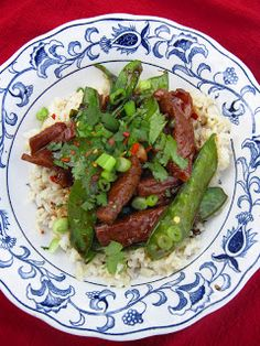 Damn Good Food: Spicy Teriyaki Beef Bowl Recipe