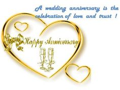 Free Anniversary Cards for Friends | Warm wishes for your loved ones on their wedding anniversary.
