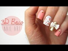 21 Pretty 3D Nail Art Designs with Supplies - Beautified Designs