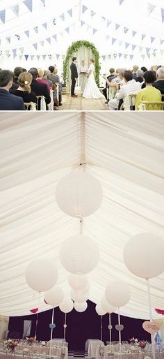 Marquee Wedding Ideas ~ UK Wedding Blog ~ Whimsical Wonderland Weddings
