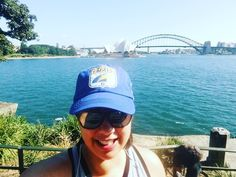 Monday morning stroll through the Royal Botanic Gardens up to Mrs Macquaries Point for a stunning view over the harbour #sydneyharbour #sydneyharbourbridge #sydneyoperahouse #sydney #tourist by annabellendb http://ift.tt/1NRMbNv